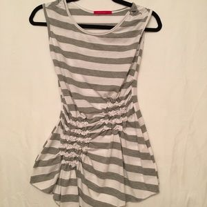 Julie's Closet cinched tank top size Small